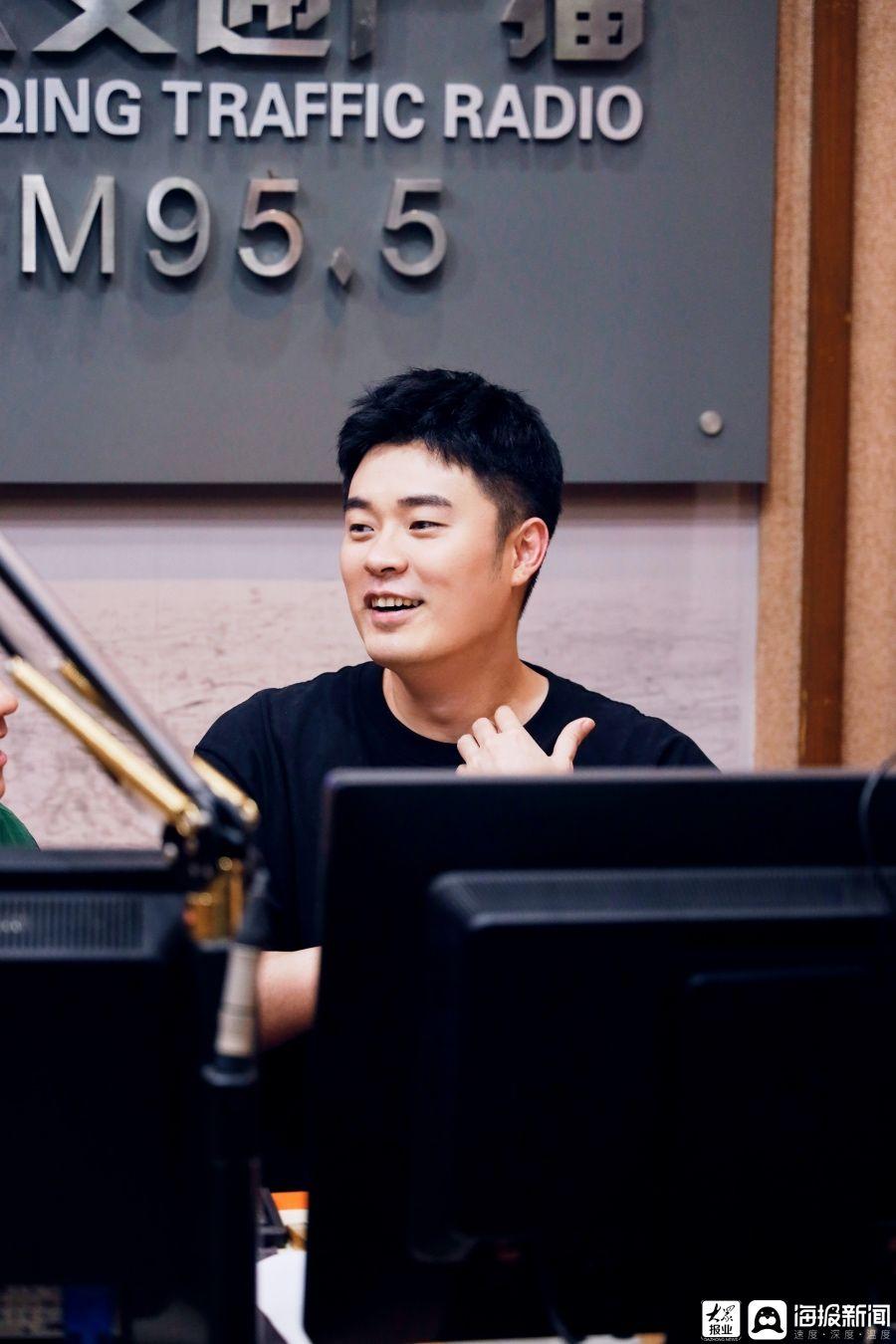 陈赫《哈哈哈哈哈》回到广播直播室上演一场超级治愈对话