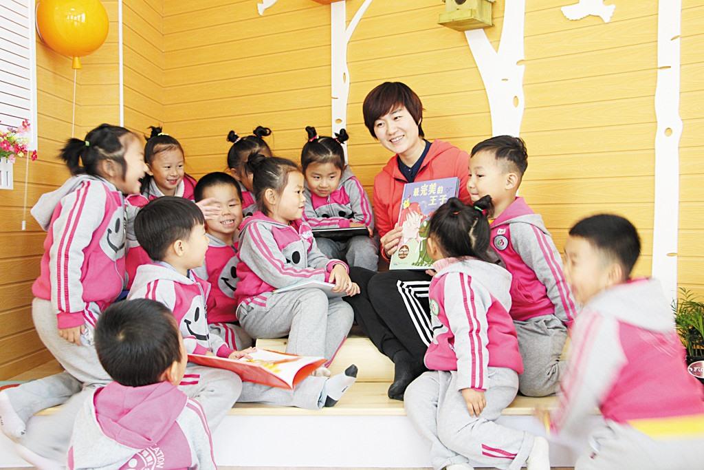 """她是孩子们喜爱的""""聪妈妈""""——记寿光世纪教育集团东城幼儿园班主任刘聪"""