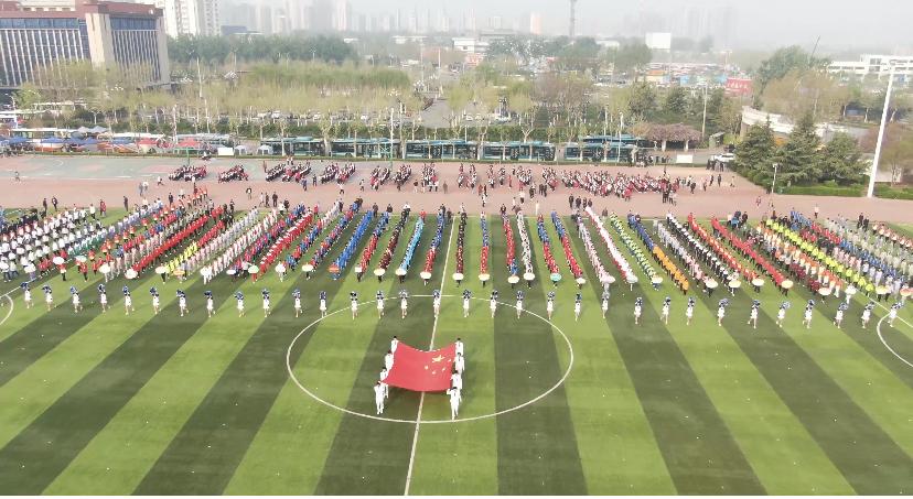 济南市历下区中小学生运动会今日举行,59支代表队同台竞技!