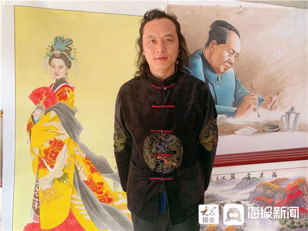 画家陈国强:因热爱而坚持_于传承中创新