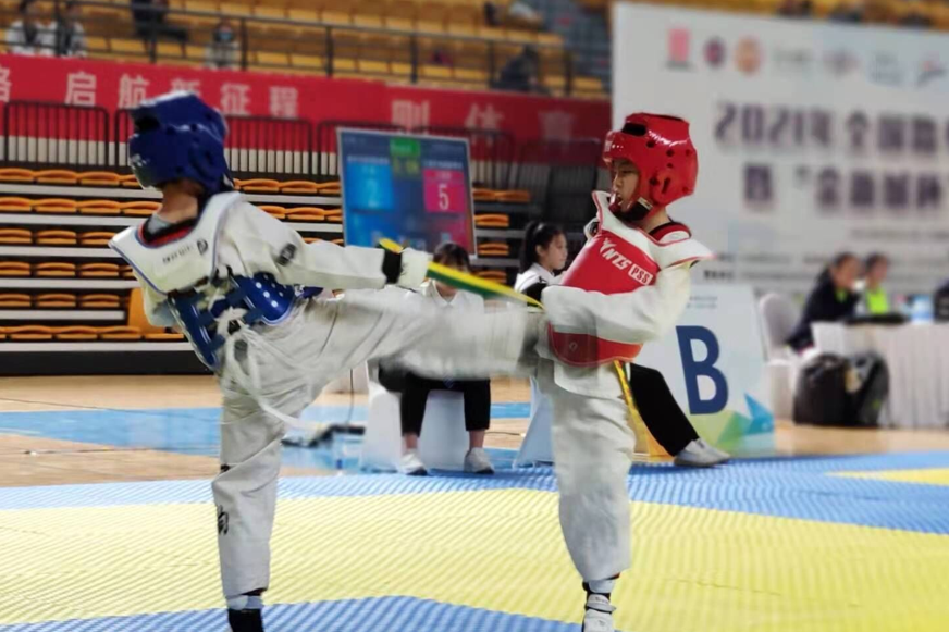 两金两银两铜!济南龙德学校跆拳道队全国赛创佳绩