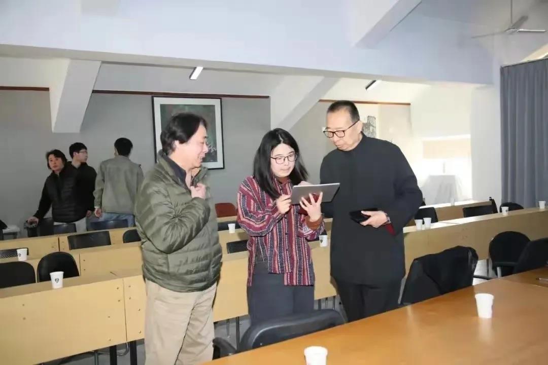 """学校调度指导山东工艺美术学院""""庆祝建党一百周年""""主题创作"""