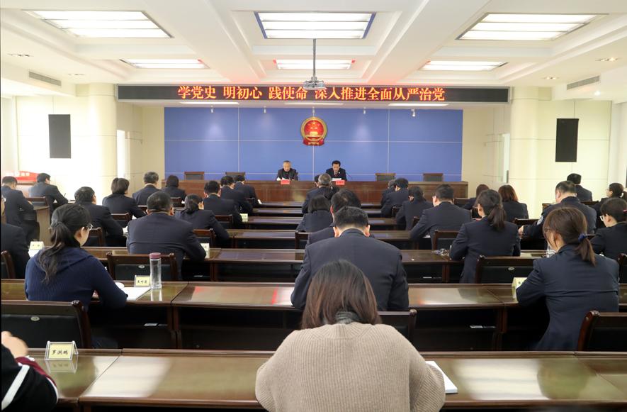 """济南市商河县人民检察院坚持""""三个突出""""  有力促进党建工作与检察业务融合发展"""