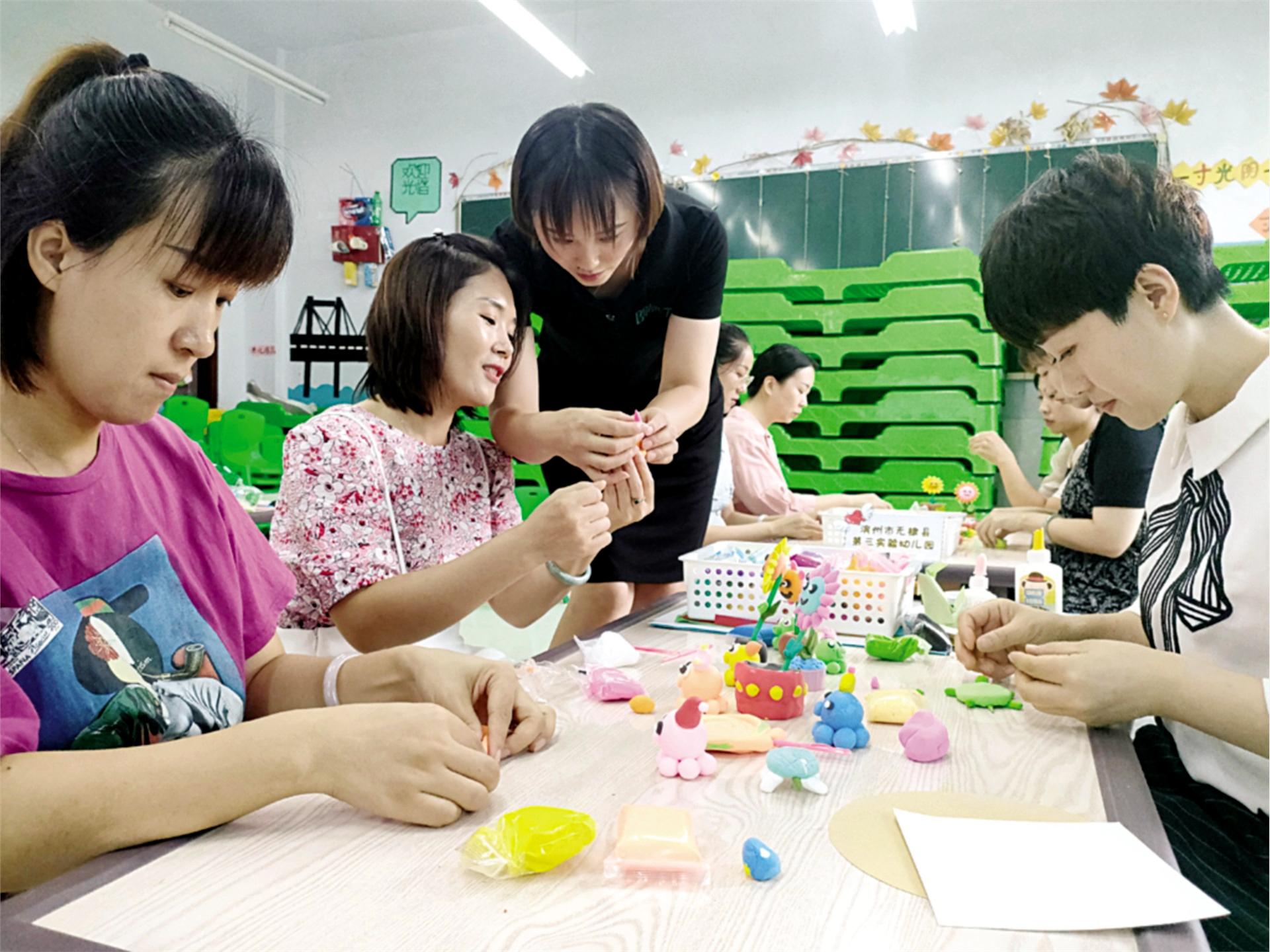 提高教学基本功!幼儿园教师开展假期专项培训