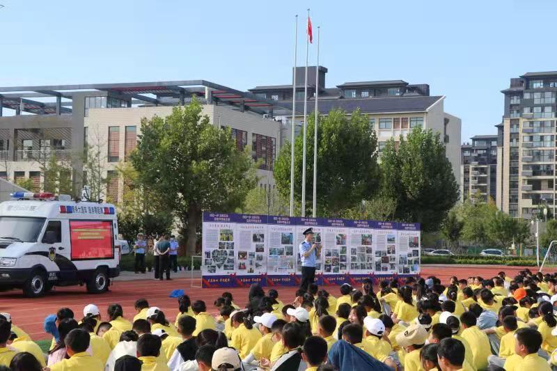 枣庄市台儿庄古城学校开设法治安全教育课堂