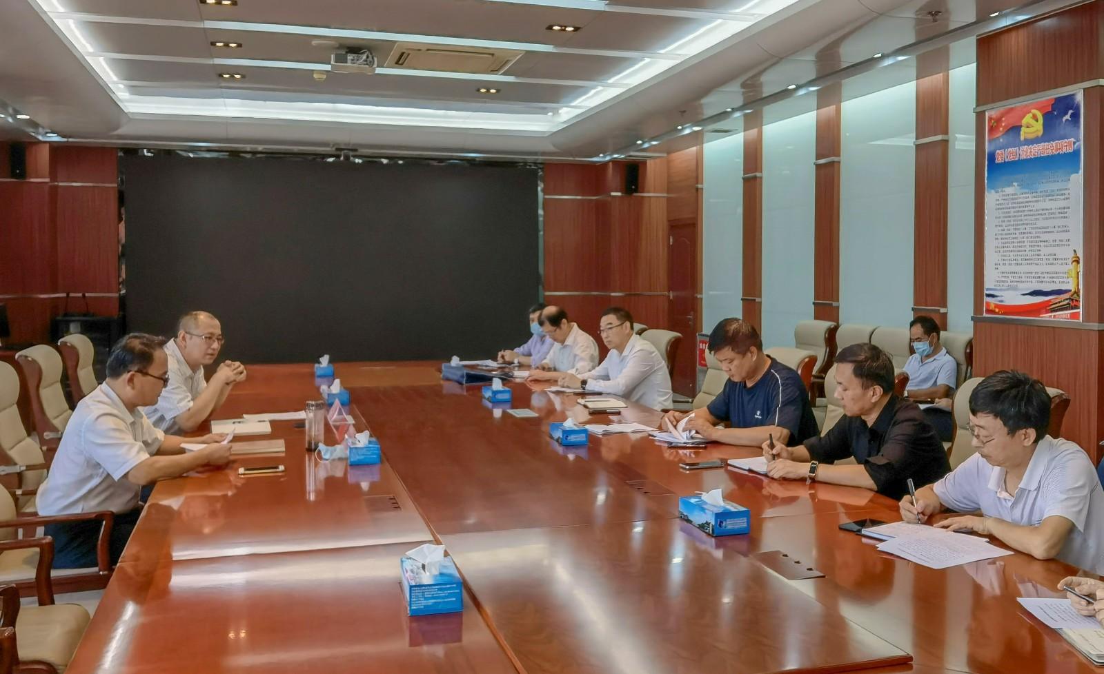 枣庄职业(技师)学院召开迎接国家卫生城市复审工作督导会议