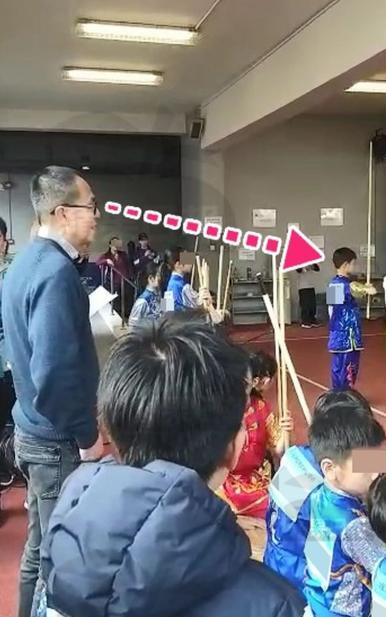 李泽楷梁洛施分手9年后罕合体 看大儿子武术比赛