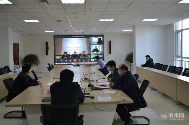 (滨州市北海经济开发区举行了一场别开生面的客商见面会 图片来源:滨州网)
