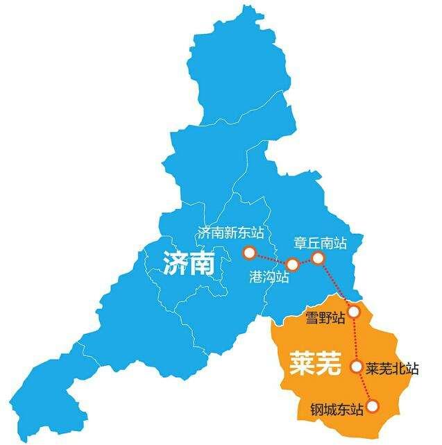 济南高铁设站6座