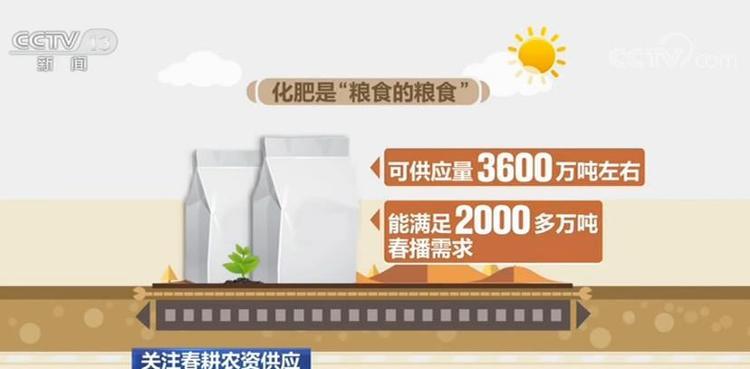 【多图】春耕春管种子化肥等农资供应充足保障有力