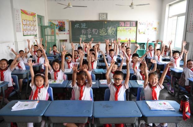现场播报!东营市小学1—2年级、幼儿园今日复学