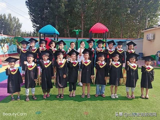 夏津县雷集镇倪庄小学幼儿园:我们毕业啦!