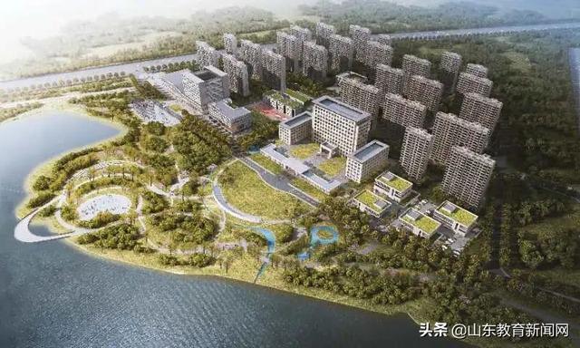 四个项目同时开工!青岛国际职教城建设全面启动