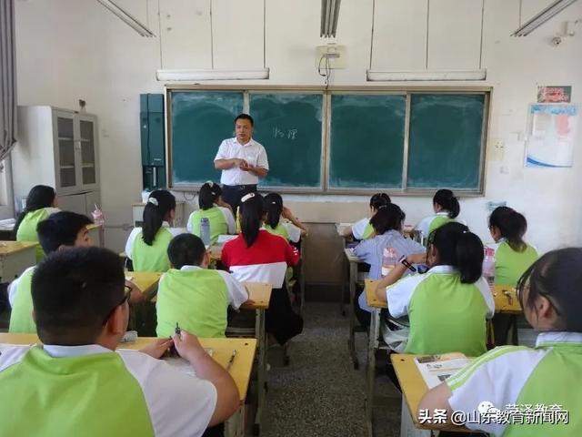 菏泽市定陶区杜堂镇中学教师王义:做学生成长路上的引路人