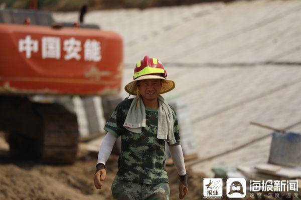 大众报业·海报新闻 山东临清:200余名转业退役军人投身南水北调建设