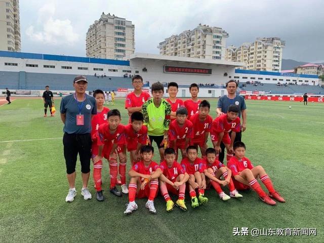 泰安U12男队夺得山东省锦标赛季军