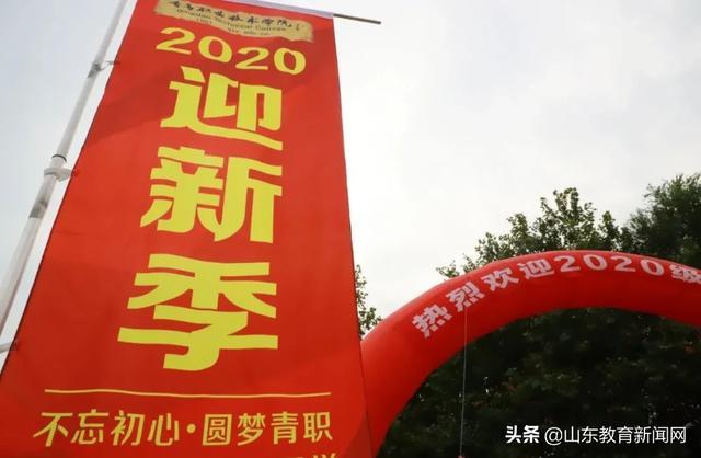 """青岛职业技术学院 :""""金""""朝相遇,一见倾""""新""""!"""