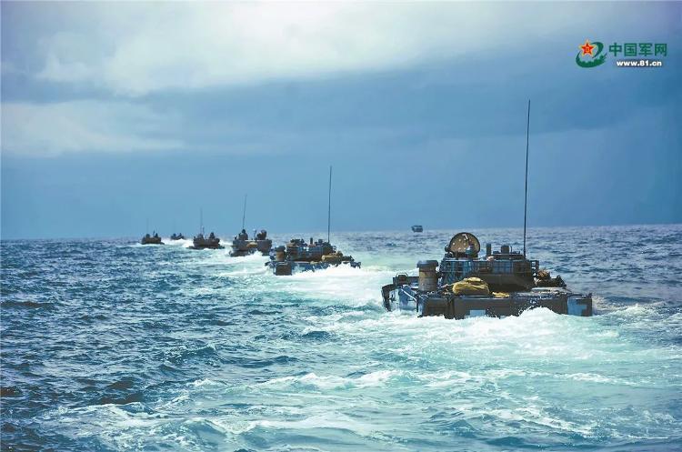 帅!这就是海军陆战队!