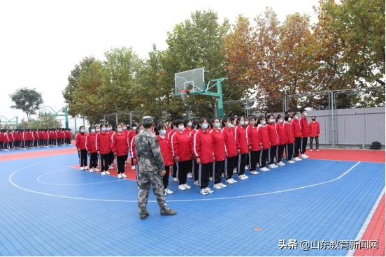 军训帷幕开 凌云壮志起  莱芜职业技术学院2020级新生军训开营