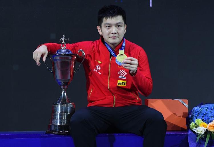 樊振东成为男乒世界杯三连冠第一人