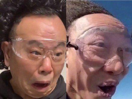 潘长江滑稽模仿陈奕迅网友:发际线表现不错