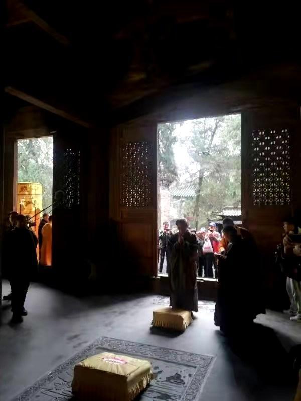 释永信 台湾著名漫画家 在蔡志忠少林寺出家