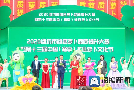 第十三届中国(寒亭)潍县萝卜文化节开幕
