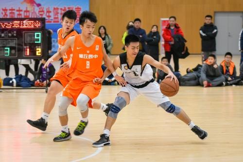 2020年济南市中小学生篮球联赛闭幕
