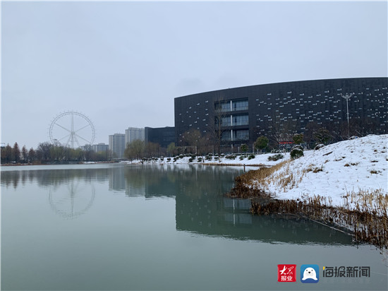 美了美了!济宁迎来新年第一场雪