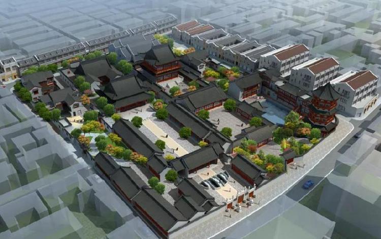 上海文庙改扩建效果图发布 将恢复部分传统规制布局