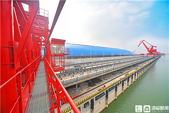 运河港口通航 梁山县区域交通枢纽地位日趋形成