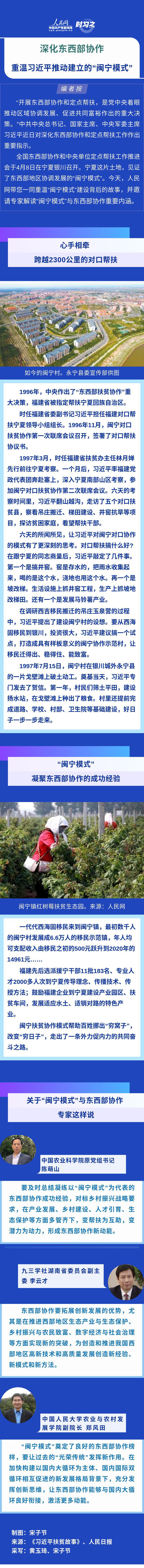 """深化东西部协作 重温习近平推动建立的""""闽宁模式"""""""