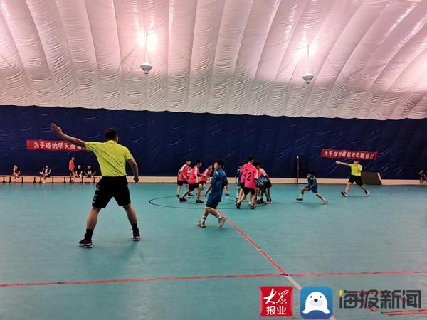 邹平市手球代表队在滨州市青少年体育锦标赛中取得佳绩