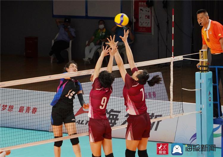【大众网·海报新闻】山东队无缘女排奖牌 第十四届全国学生运动会女子排球比赛结束