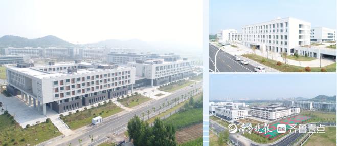 今天,枣庄学院新校区及市驻地10所学校启动,将于9月正式启用