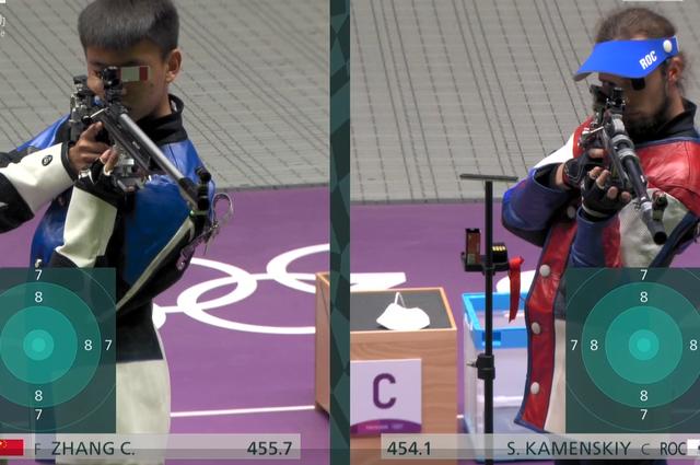 """奥运选手回家乡 打破世界纪录的""""00后""""射击小将张常鸿"""