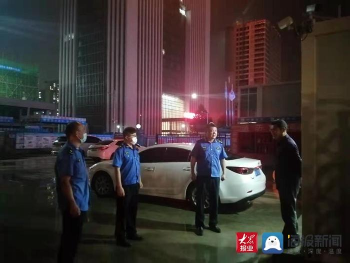 泰安高新区综合行政执法局奋战防汛一线 筑牢安全屏障