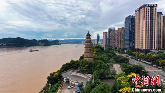 """七月社会新闻_""""长江2021年第1号洪水""""平稳过境三峡水域"""