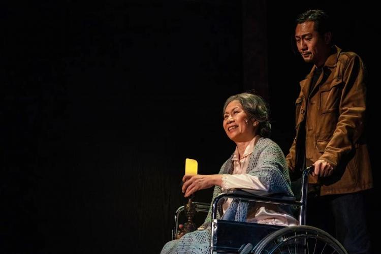 片名:雷 65岁的老牌话剧演员 去世后曾主演《最后晚餐》 《如梦之梦》 《德龄与慈禧》等