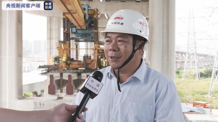 广东南沙港铁路全线主体工程完工