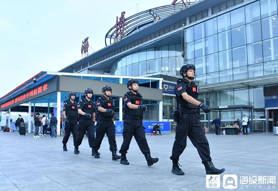 淄博市公安机关圆满完成中秋节安保维稳任务