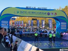 全城沸腾!2021黄河口(东营)马拉松正式开跑