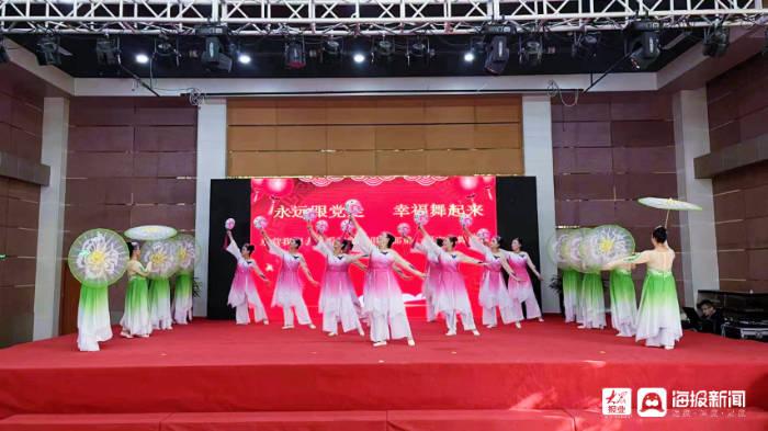 永远跟党走 幸福舞起来 ——东营夕阳红艺术团举办庆祝建党100周年广场舞大赛