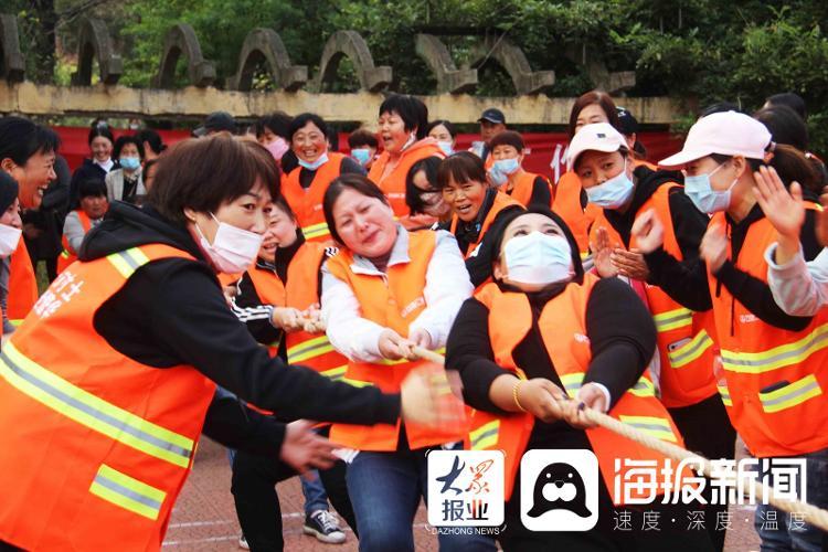 跳绳、拔河、扑克……临沭举办环卫工人运动会喜迎环卫工人节