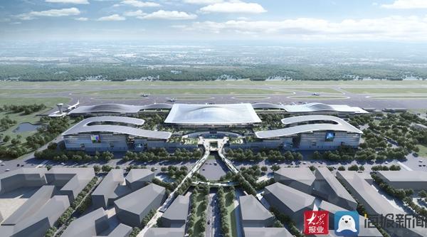 临沂机场航站楼开始扩建!可满足旅客吞吐量1200万人次