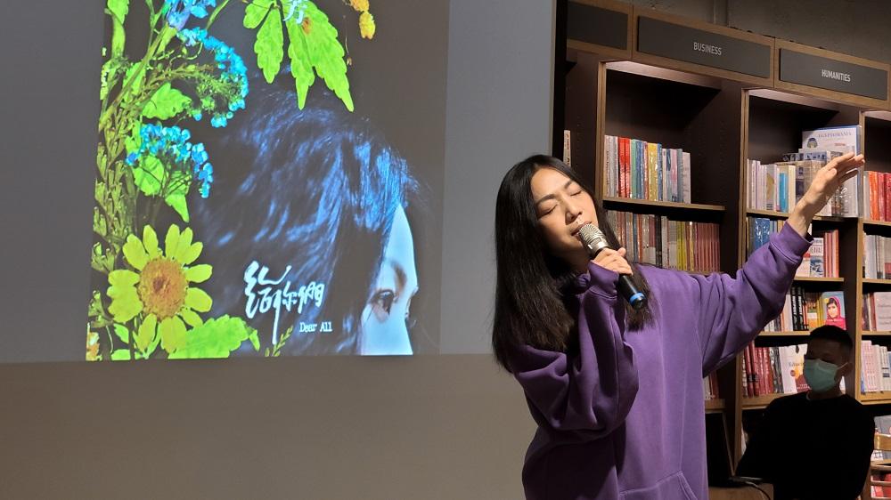 万芳第一次邀请母亲出演新歌MV 《在那个冬天的下午 我爱你》暖首映式