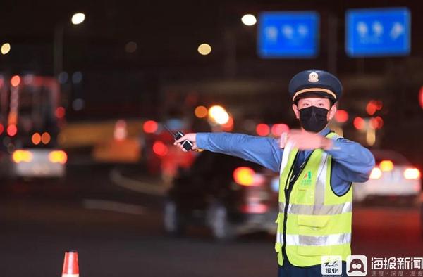 国庆假期临沂高速公路安全顺畅 通行车流总量297万辆次